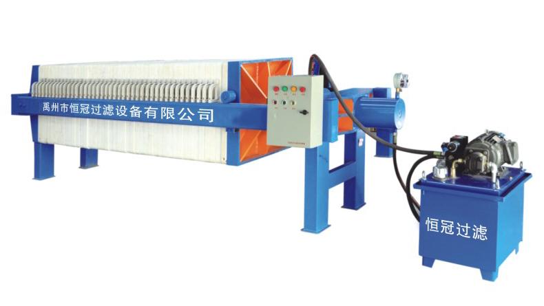 450/630/800型液压自动压紧压滤机