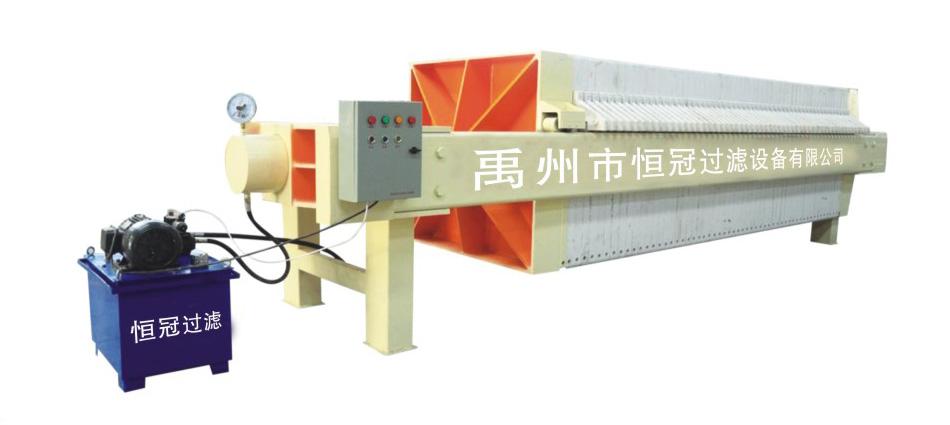 1000/1250/1500型液压自动压紧压滤机