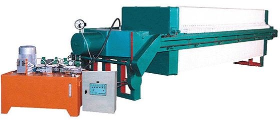 1250型液压自动压紧压滤机